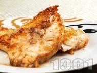 Котлети от риба сулка със соев сос
